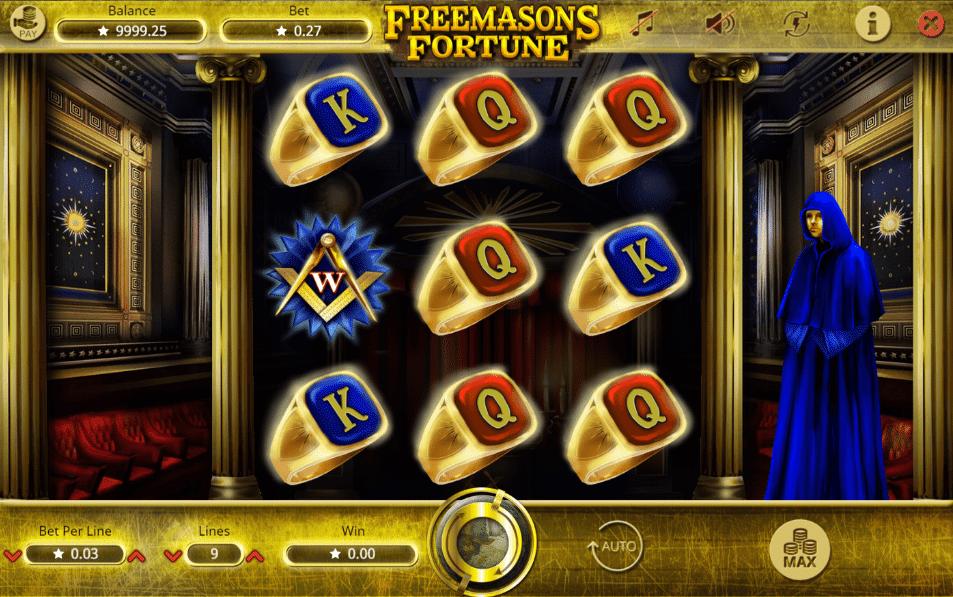 Freemasons Fortune Spielautomat Kostenlos Spielen
