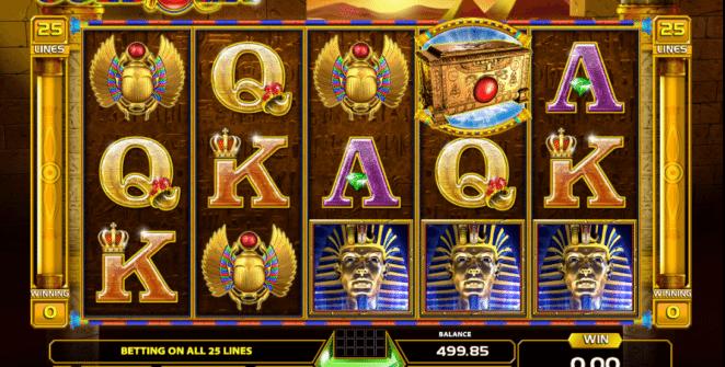 Kostenlose Spielautomat Gold of Ra Online