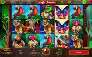Kostenlose Spielautomat Jungle Jumpers Online