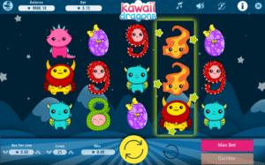 Kostenlose Spielautomat Kawaii Dragons Online