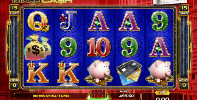 Spielautomat More Cash Online Kostenlos Spielen