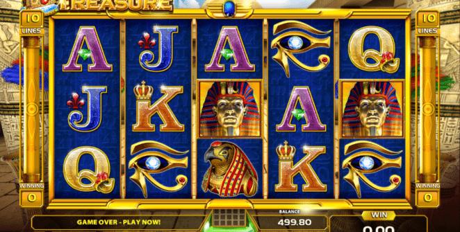 Ramses Treasure Spielautomat Kostenlos Spielen