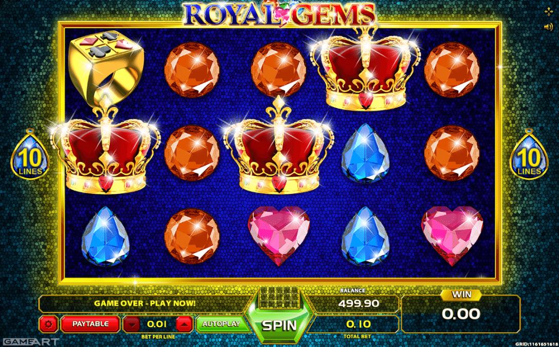 Royal Treasures Spielautomat - Jetzt gratis online spielen