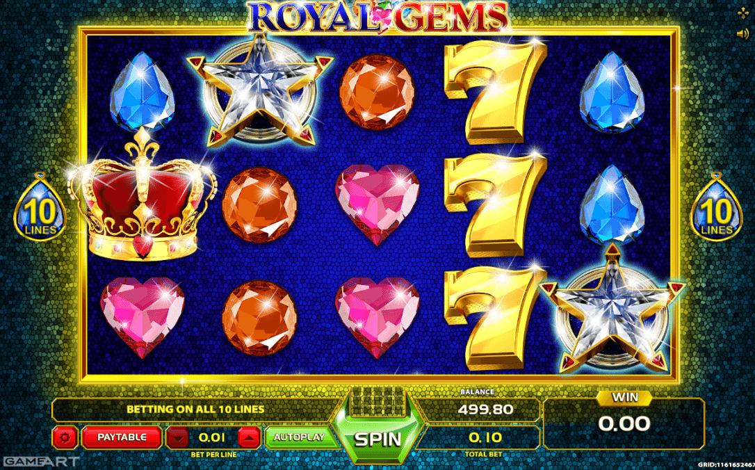 Spielautomat Royal Gems Online Kostenlos Spielen