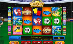 Kostenlose Spielautomat World-Cup Soccer Spins Online
