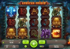 Kostenlose Spielautomat African Spirit Online