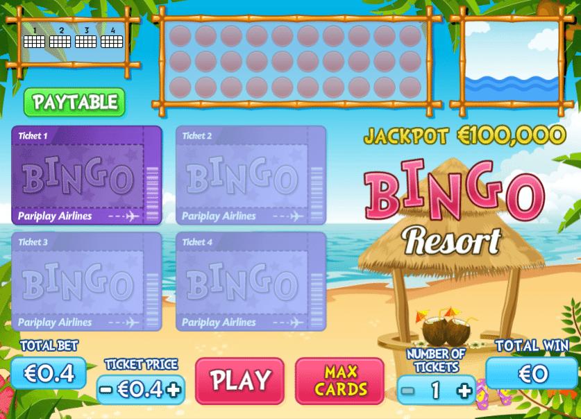 Spielautomat Bingo Resort Online Kostenlos Spielen