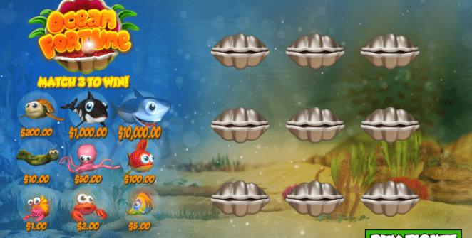Spielautomat Ocean Fortune PariPlay Online Kostenlos Spielen