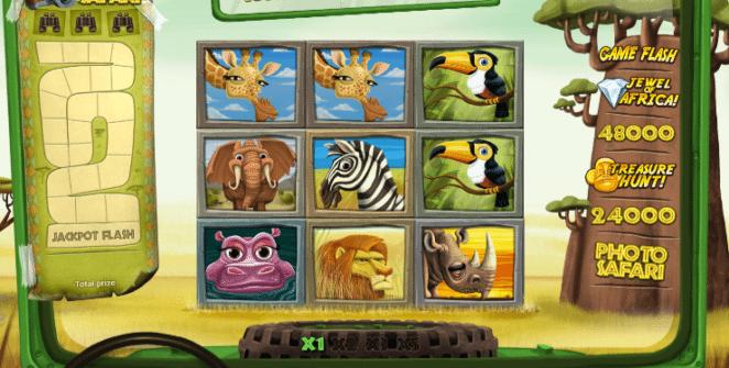 Kostenlose Spielautomat Safari Slot Online