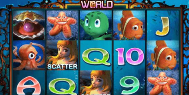 Underwater World Spielautomat Kostenlos Spielen