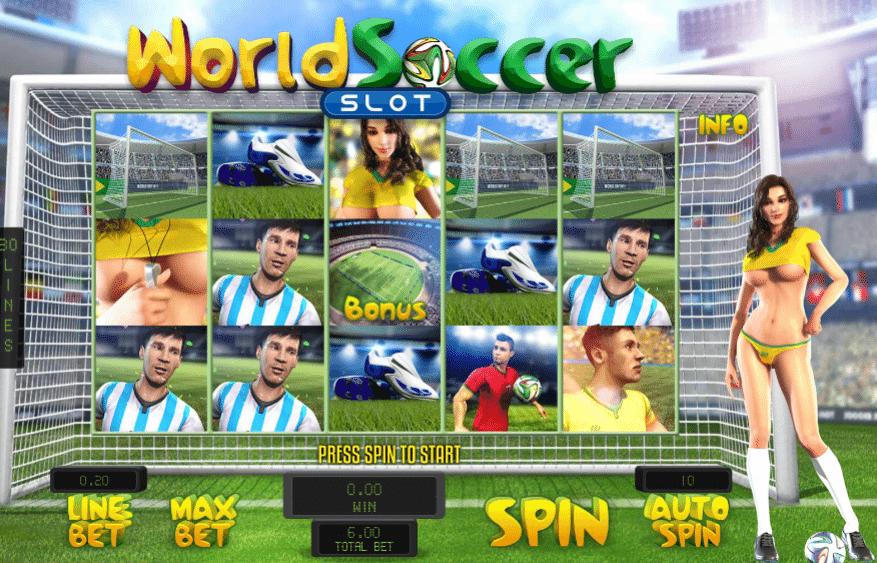 Football World Cup Slot - Beurteilung und gratis spielen