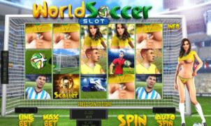 Kostenlose Spielautomat World Soccer Slot Online