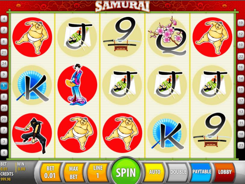 Samurai Spielautomat Kostenlos Spielen