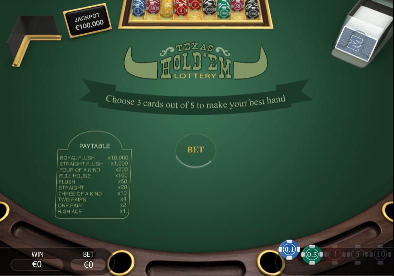 Spielautomat Texas Holdem PariPlay Online Kostenlos Spielen