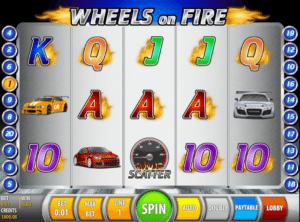 Spielautomat Wheels on Fire Online Kostenlos Spielen