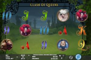 Kostenlose Spielautomat Clash of Queens Online