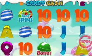 Kostenlose Spielautomat Candy Cash Online