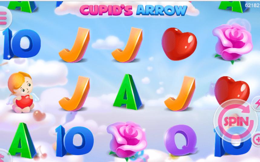 Kostenlose Spielautomat Cupids Arrow Mobilots Online