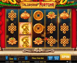 Spielautomat Talismans Of Fortune Online Kostenlos Spielen