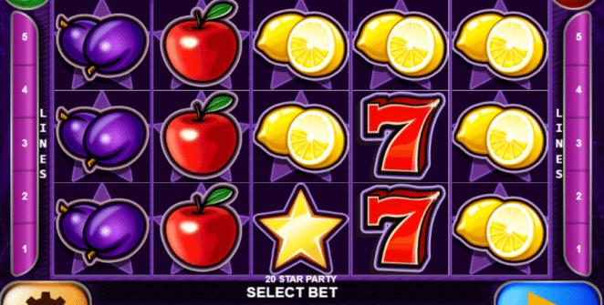 Spielautomat 20 Star Party Online Kostenlos Spielen
