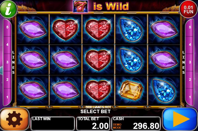 Kostenlose Spielautomat Brilliants Hot Online