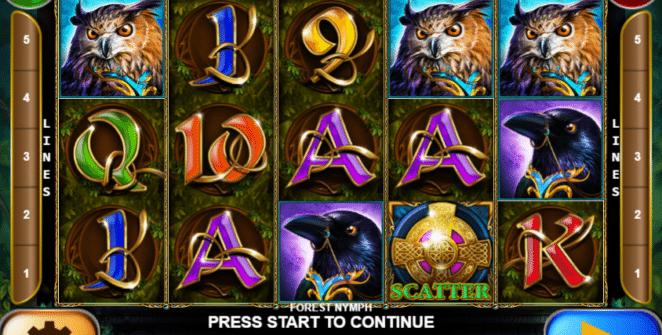 Kostenlose Spielautomat Forest Nymph Online