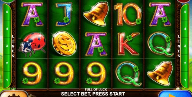 Full of Luck Spielautomat Kostenlos Spielen