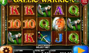 Kostenlose Spielautomat Gaelic Warrior Online