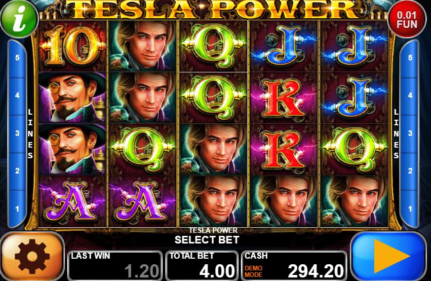 Casino Spiele Tesla Power Online Kostenlos Spielen
