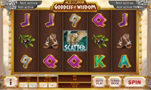 Kostenlose Spielautomat Age of Gods Goddess of Wisdom Online