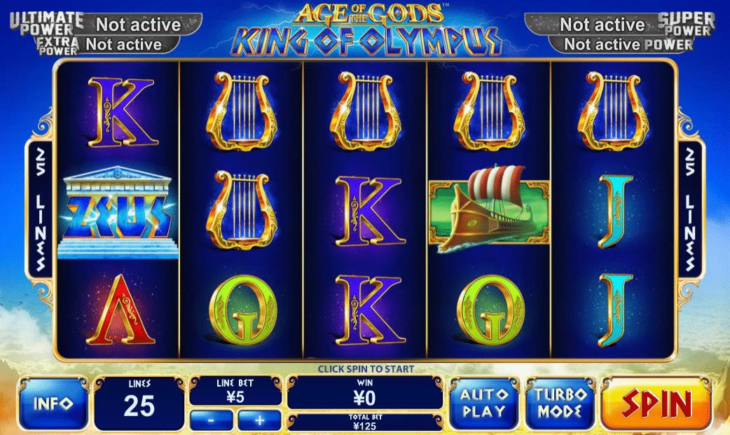 Casino Spiele Age of Gods King of Olympus Online Kostenlos Spielen