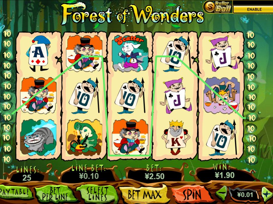 Kostenlose Spielautomat Forest of Wonders Online