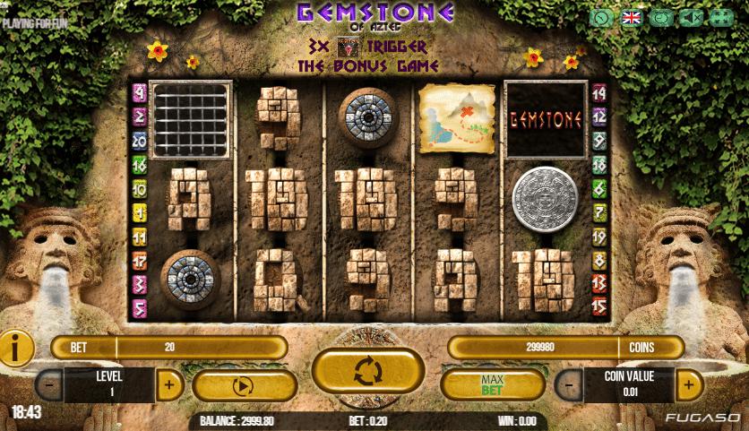 Spiele Gemstone Of Aztec - Video Slots Online