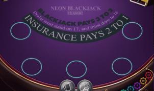 Kostenlose Spielautomat Neon Blackjack Classic Online
