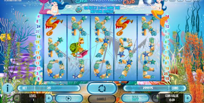 Spielautomat Sea Underwater Club Online Kostenlos Spielen