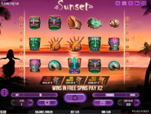 Sunset Spielautomat Kostenlos Spielen
