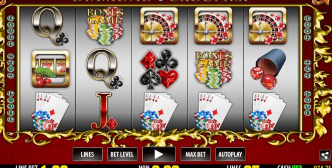Kostenlose Spielautomat Diamond Croupier Online