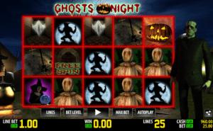 Kostenlose Spielautomat Ghosts Night Online