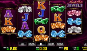 Kostenlose Spielautomat Monte Carlo Jewels Online