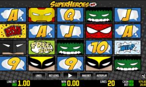 Spielautomat Super Heroes WM Online Kostenlos Spielen