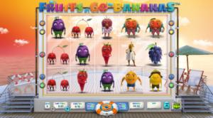 Kostenlose Spielautomat Fruits Go Bananas Online
