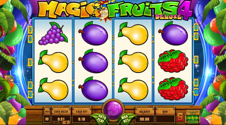 Magic Fruits Deluxe Slot Machine