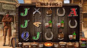 Kostenlose Spielautomat Wild Guns Online