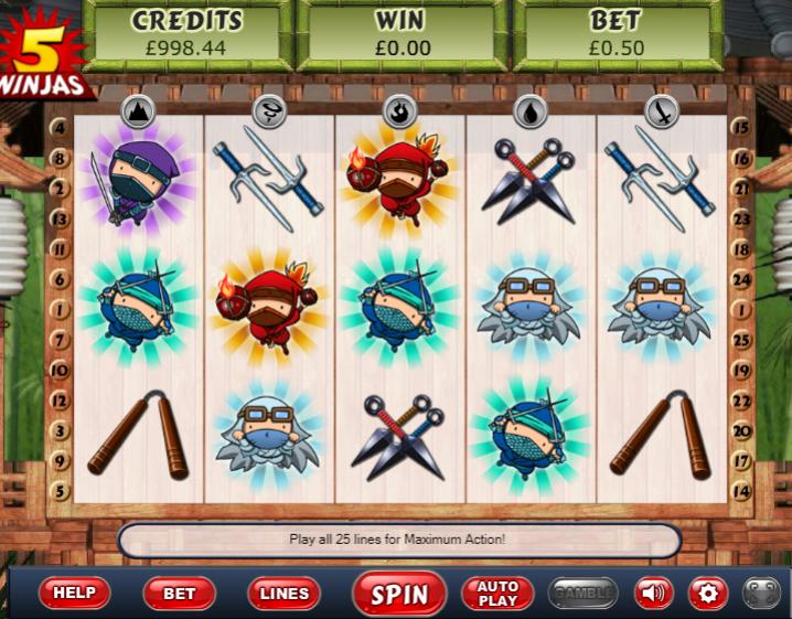 5 Ninjas