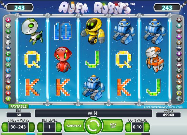 alien robots spielen