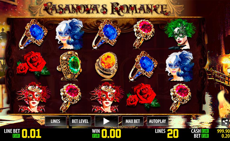 Casanovas Romance