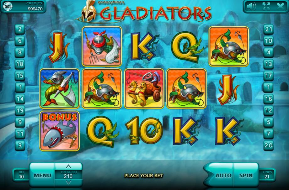 Gladiators Endorphina