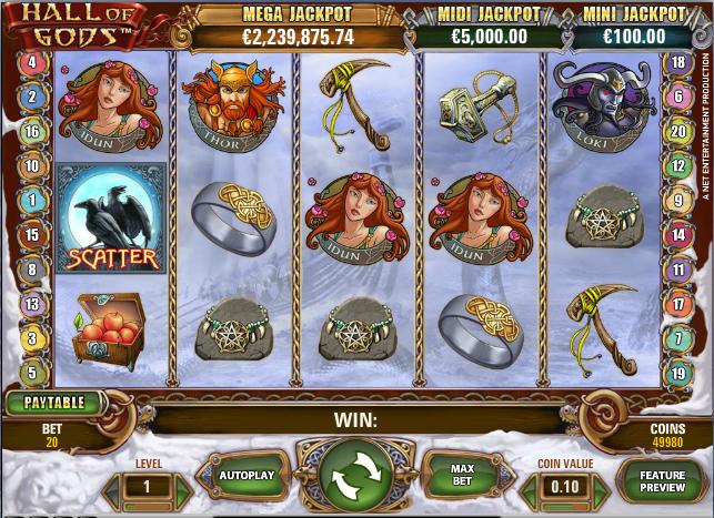 Hall of Gods kostenlos spielen | Online-slot.de