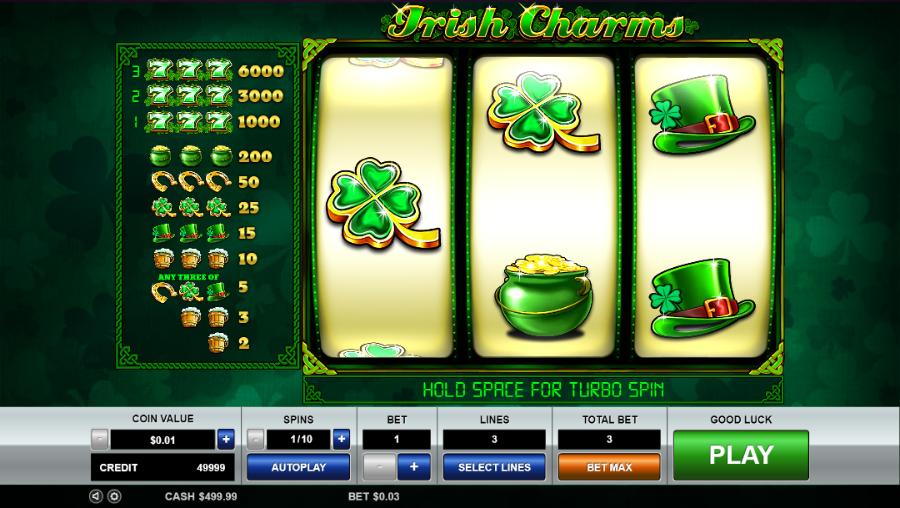 Spiele Irish Charms - Video Slots Online