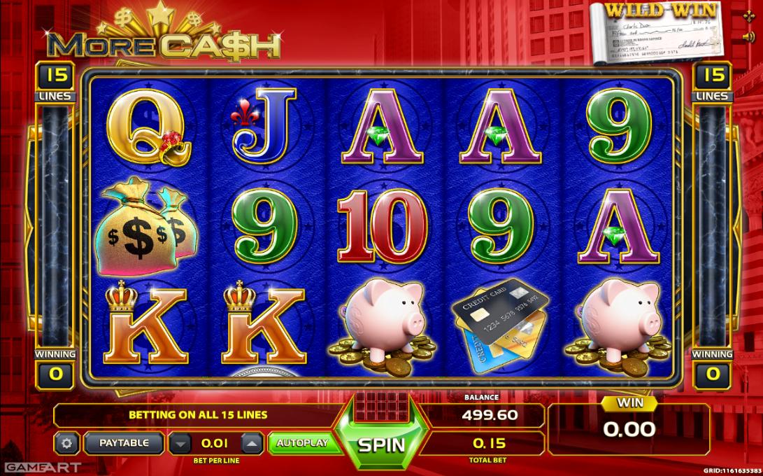More Cash